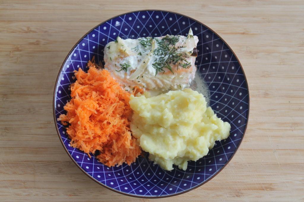 Saumon au four finlandais