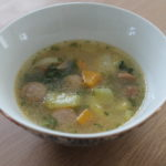 Soupe aux knackis